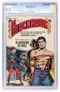 Golden Age (1938-1955):War, Blackhawk #73 (Quality, 1954) CGC FN+ 6.5 White pages....