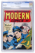 Golden Age (1938-1955):War, Modern Comics #46 (Quality, 1946) CGC VF+ 8.5 Cream to off-whitepages....
