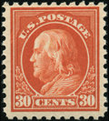 Stamps, 30c Orange Red (476A),...
