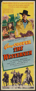"""Movie Posters:Western, The Westerner (United Artists, 1940). Insert (14"""" X 36""""). Western.. ..."""