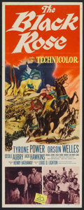 "Movie Posters:Adventure, The Black Rose (20th Century Fox, 1950). Insert (14"" X 36"").Adventure.. ..."