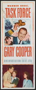"Movie Posters:War, Task Force (Warner Brothers, 1949). Insert (14"" X 36""). War.. ..."