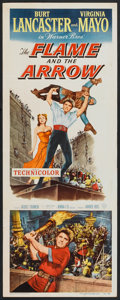 "Movie Posters:Adventure, The Flame and the Arrow (Warner Brothers, 1950). Insert (14"" X36""). Adventure.. ..."