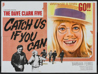 """Having A Wild Weekend (Warner Brothers, 1965). British Quad (30"""" X 40"""") Released in Britain as Catch Us If You..."""