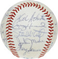 Autographs:Baseballs, 1984 Oakland Athletics Team Signed Baseball. Great team signed orbwith 22 signatures from the '84 Oakland A's. OAL ( Brow...