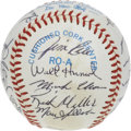 Autographs:Baseballs, 1982 Boston Red Sox Team Signed Baseball. Loaded with star talent,the 1982 Boston Red Sox are represented here by a total ...
