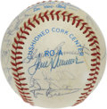 Autographs:Baseballs, 1984 Chicago White Sox Team Signed Baseball. The '84 White Sox arefeatured here with 27 signatures on the OAL (MacPhail) b...
