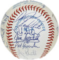 Autographs:Baseballs, 1985 Kansas City Royals World Champion Team Signed . What betterway to honor the Kansas City Royals' only franchise World ...