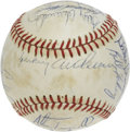 Autographs:Baseballs, 1982 Detroit Tigers Team Signed Baseball. Led by Hall of Fameskipper Sparky Anderson, the early 1980s Detroit Tigers was a...