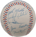 Autographs:Baseballs, 1999 Los Angeles Dodgers Team Signed Baseball. Los Angeles Dodgerssouvenir baseball that we offer here has 23 signatures f...