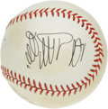 Autographs:Baseballs, Sadaharu Oh Single Signed Baseball. With the major league home runrecord seemingly about to fall this season, it only seem...
