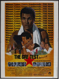 """Boxing Collectibles:Autographs, Muhammad Ali Signed """"The Greatest"""" Poster. Attractive originalpromotional poster for the 1977 biographical study of Muhamm..."""