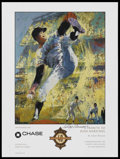"Baseball Collectibles:Others, 1997 Juan Marichal Tribute Poster Signed by LeRoy Neiman. This18x24"" poster created for the Giants celebrating 40 years in ..."