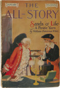 """Pulps:Miscellaneous, All-Story Magazine """"Gods of Mars"""" Group (Munsey, 1913) Condition: Average VG.... (Total: 5 Comic Books)"""