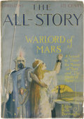 """Pulps:Miscellaneous, All-Story Magazine """"Warlord of Mars"""" Group (Munsey, 1913-14) Condition: Average VG...."""