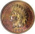 Proof Indian Cents: , 1903 1C PR66 Red and Brown PCGS. Misplaced date. Snow-PR1. This variety is illustrated in Richard Snow's Flying Eagle & I...