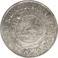 Colonials: , 1776 $1 Continental Dollar, CURENCY, Pewter AU55 PCGS. Breen-1089, Newman 1-C, Hodder 1-A.3, R.3. Early dollar specialists ...
