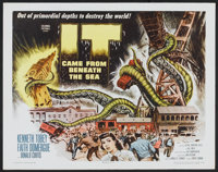 """It Came From Beneath the Sea (Columbia, 1955). Half Sheet (22"""" X 28""""). Science Fiction"""