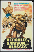 "Movie Posters:Adventure, Hercules, Samson and Ulysses (MGM, 1965). One Sheet (27"" X 41"").Adventure.. ..."