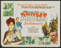"""Movie Posters:Adventure, Drums (Film Classics, R-1948). Title Lobby Card (11"""" X 14"""").Adventure.. ..."""