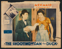 """The Shooting of Dan the Duck (Educational, 1931). Lobby Card (11"""" X 14""""). Comedy"""