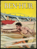 """Movie Posters:Historical Drama, Ben-Hur (MGM, 1925). Program (Multiple Pages, 9"""" X 12""""). HistoricalDrama.. ..."""