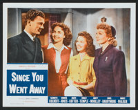 "Since You Went Away (Selznick Releasing, R-1956). Lobby Cards (2) (11"" X 14""). Drama. ... (Total: 2 Items)"