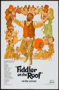 """Movie Posters:Musical, Fiddler on the Roof (United Artists, 1972). One Sheet (27"""" X 41""""). Musical.. ..."""