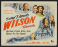 "Movie Posters:Drama, Wilson (20th Century Fox, 1944). Title Lobby Card (11"" X 14""). Drama.. ..."