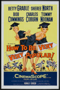 "How to Be Very, Very Popular (20th Century Fox, 1955). One Sheet (27"" X 41""). Comedy"