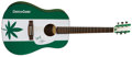 Music Memorabilia:Autographs and Signed Items, Cheech and Chong Signed Guitar....
