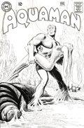 Original Comic Art:Covers, Nick Cardy Aquaman #37 Cover Original Art (DC, 1968)....