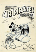 Original Comic Art:Covers, Bobby London Air Pirates Funnies #1 Cover Original Art (HellComics, 1971)....