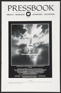 """Superman the Movie (Warner Brothers, 1978). Pressbook (Multiple Pages) (11"""" X 17""""). Action"""