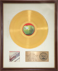 Music Memorabilia:Awards, The Beatles 1962-1966 RIAA Gold Album Award....