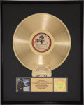 Music Memorabilia:Awards, George Harrison Cloud Nine RIAA Gold Album Award. ...