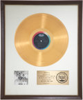 Music Memorabilia:Awards, The Beatles' Revolver RIAA Gold Album Award....