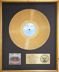 Music Memorabilia:Awards, Beatles Related - George Harrison Dark Horse RIAA Gold AlbumAward....