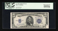 Error Notes:Obstruction Errors, Fr. 1654 $5 1934D Silver Certificate. PCGS Choice About New 55PPQ.....
