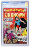 Silver Age (1956-1969):Adventure, Challengers of the Unknown #34 (DC, 1963) CGC VF/NM 9.0 Off-white to white pages....