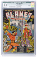 Golden Age (1938-1955):Science Fiction, Planet Comics #10 Incomplete (Fiction House, 1941) CGC QualifiedVG- 3.5 Cream to off-white pages....