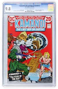 Kamandi, the Last Boy on Earth #2 (DC, 1973) CGC NM/MT 9.8 Off-white to white pages