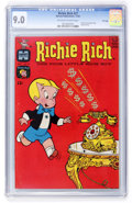 Silver Age (1956-1969):Cartoon Character, Richie Rich #27 File Copy (Harvey, 1964) CGC VF/NM 9.0 Off-white to white pages....
