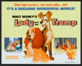 "Movie Posters:Animated, Lady and the Tramp Lot (Buena Vista, R-1971). Lobby Card Set of 8(11"" X 14"") and Pressbooks (2) (11"" X 15""). Animated.. ... (Total:10 Items)"