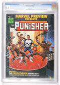 Magazines:Superhero, Marvel Preview #2 The Punisher (Marvel, 1975) CGC VF+ 8.5 Whitepages....
