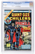 Bronze Age (1970-1979):Horror, Giant-Size Chillers #1 (Marvel, 1975) CGC NM- 9.2 Off-white towhite pages....