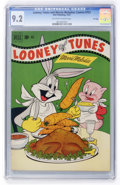 Golden Age (1938-1955):Cartoon Character, Looney Tunes and Merrie Melodies Comics #122 File Copy (Dell, 1951)CGC NM- 9.2 Off-white to white pages....