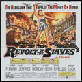 """Movie Posters:Adventure, The Revolt of the Slaves (United Artists, 1961). Six Sheet (81"""" X81""""). Adventure.. ..."""