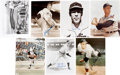 Autographs:Photos, Baseball Stars Signed Photographs....