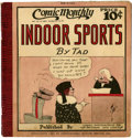Platinum Age (1897-1937):Miscellaneous, Comic Monthly #6 Indoor Sports (Embee Dist. Co., 1922)Condition: VG+....